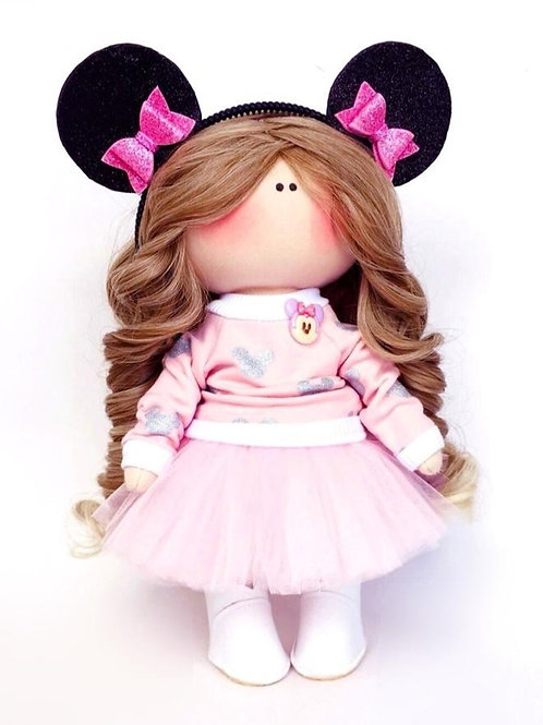 Our Magical Minnie Doll - Made to Order - Handmade Doll