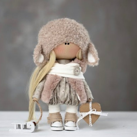 Pretty Millie - Ready to Go Handmade Doll - 2019 Collection