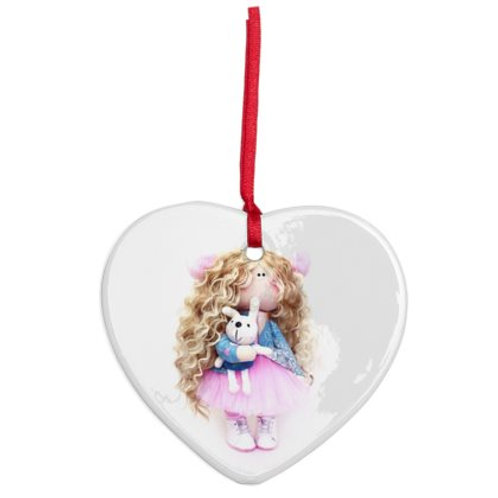 Polly - Heart Shaped - Christmas Decoration