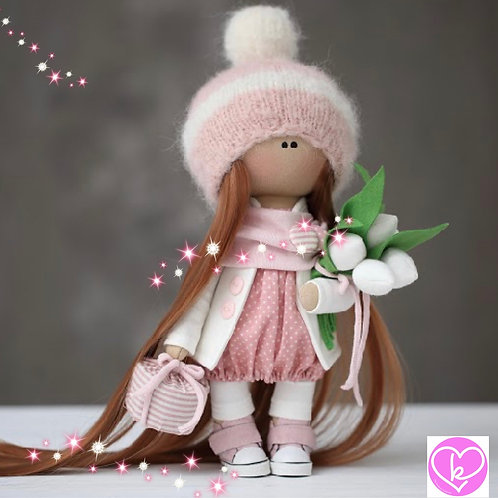 Lovely Louis - Ready to Go Handmade Doll - 2019 Collection