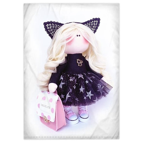Little Miss Kitty - Bedding Range - Single
