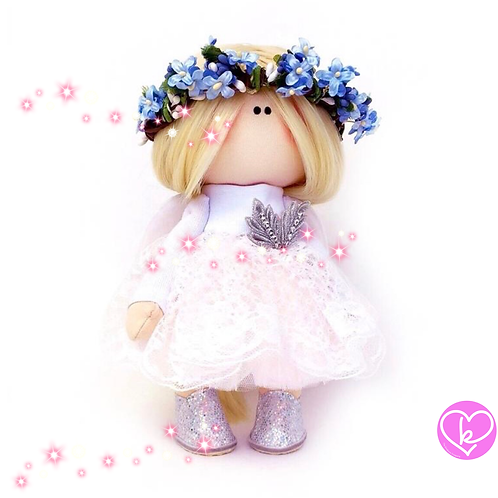 Gorgeous Angel - Made to Order - Handmade Doll