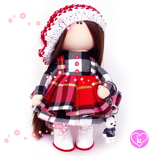 Beautiful Jessie - Made to Order - Handmade Doll