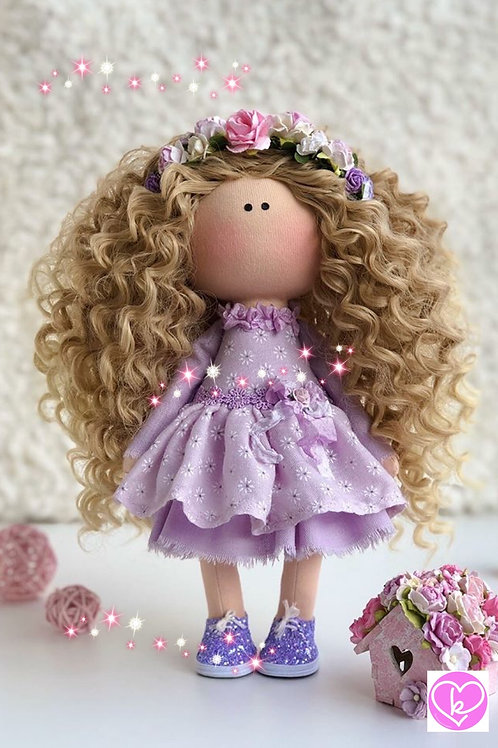 Lovely Hermoine - Ready to Go Handmade Doll - 2019 Collection