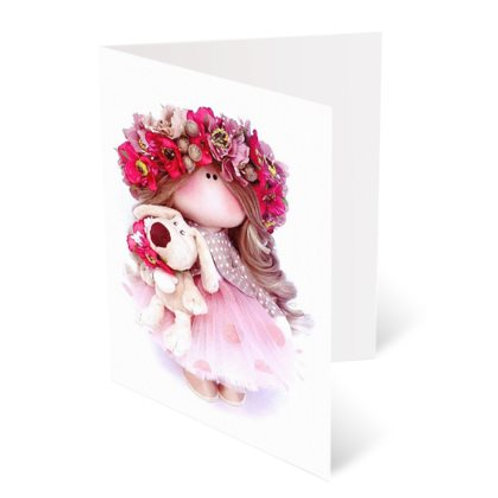 Greeting Cards - Pack of 4 + Matching Stickers