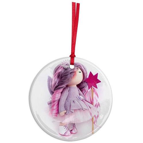 Fairy Godmother - Round Shaped - Christmas Decoration