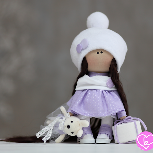 Lilly - Ready to Go - Handmade Doll - 2021 Collection