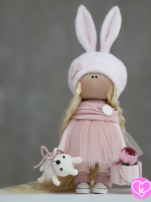 Olivia - Ready to Go - Handmade Doll - 2021 Collection