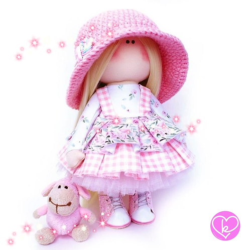 Lolly - Made to Order - Handmade Doll