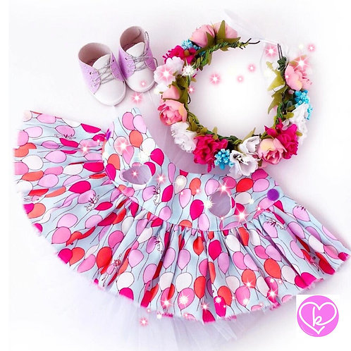 Pretty Balloons - Made to Order - Extra Outfit Set