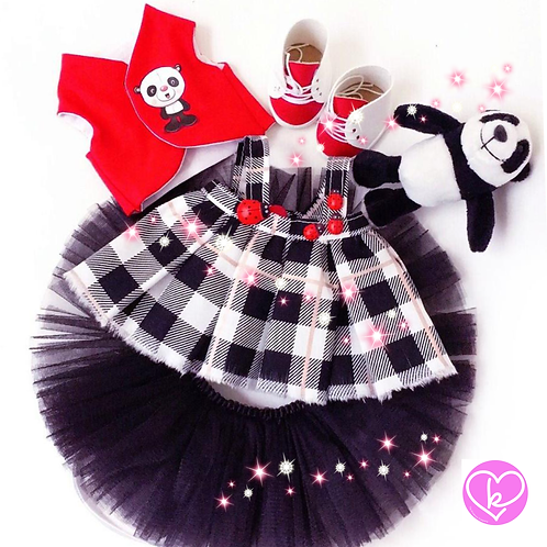Pretty Panda - Made to Order - Extra Outfit Set