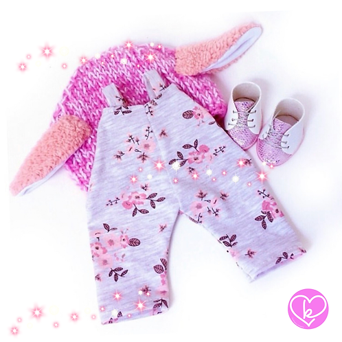 Bunny Trouser Set - Made to Order - Extra Outfit Set