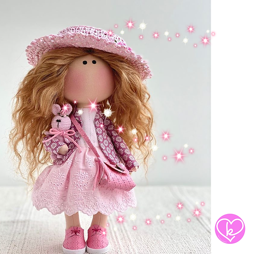 Beautiful Mary - Ready to Go Handmade Doll - 2020 Collection