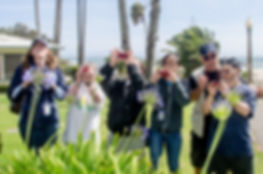 Photographer Fabian Lewkowicz leads a photo walk in Santa Monica