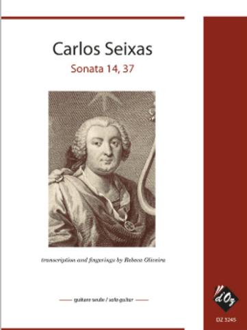 Carlos Seixas - Sonata 14, 37 (Tr. Rebeca Oliveira)