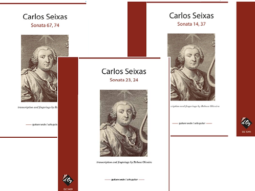 Carlos Seixas - Sonata 14,37 + 23,24 + 67,74