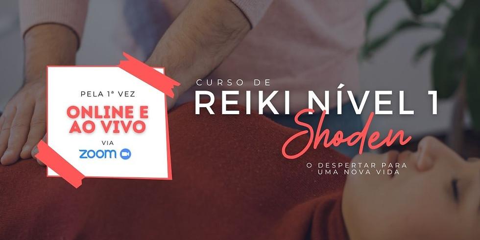 Curso de Reiki Nível 1 - Shoden | O Despertar
