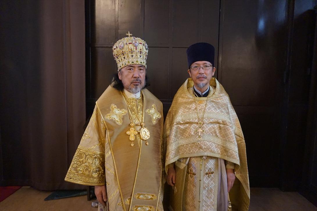 セラフィム大主教座下と水口神父