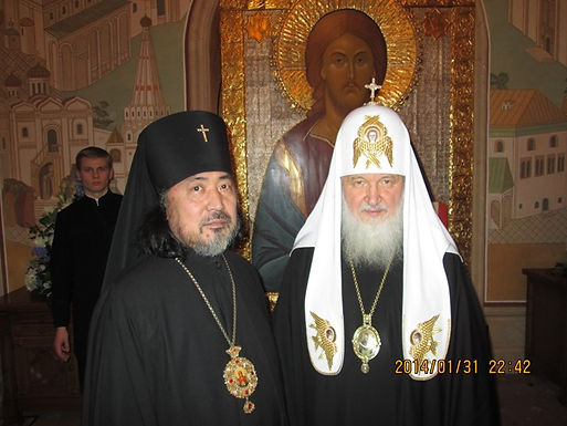 セラフィム大主教ロシア正教会訪問