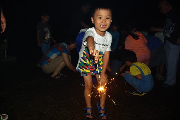 楽しい花火