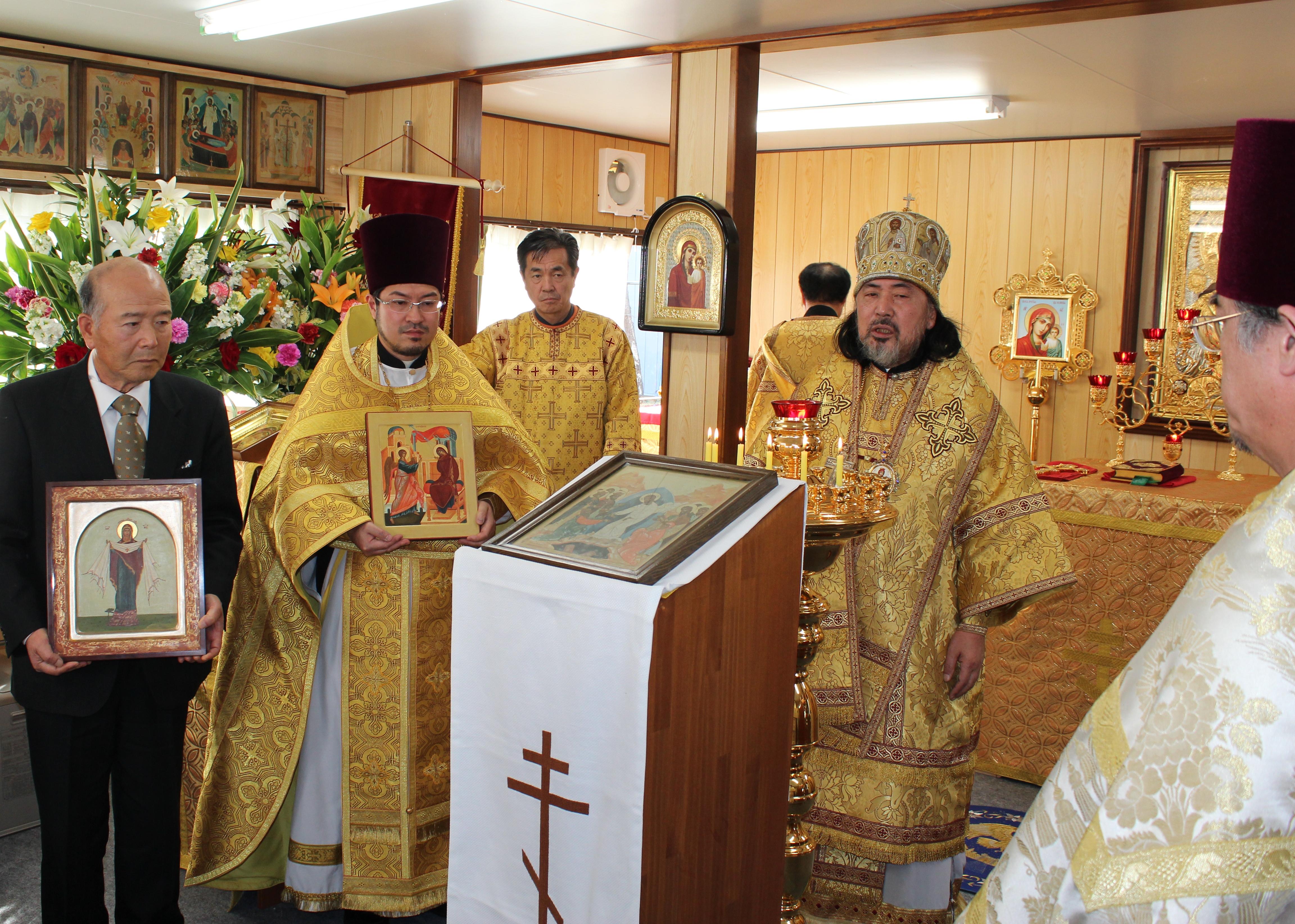 セラフィム大主教座下の祝辞
