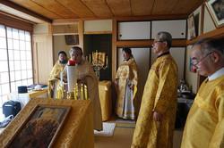聖体礼儀での福音誦読