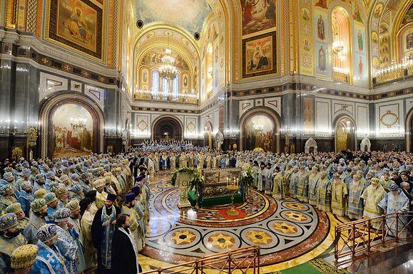 主教会議と総主教座復興百周年記念行事