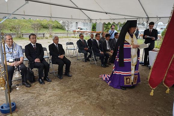 石巻正教会旧会堂再建着手