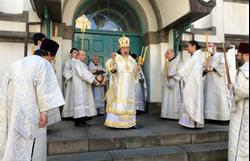 東京復活大聖堂における復活大祭