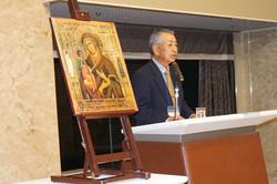 上下堤正教会執事長ニーコン浅野兄の講話