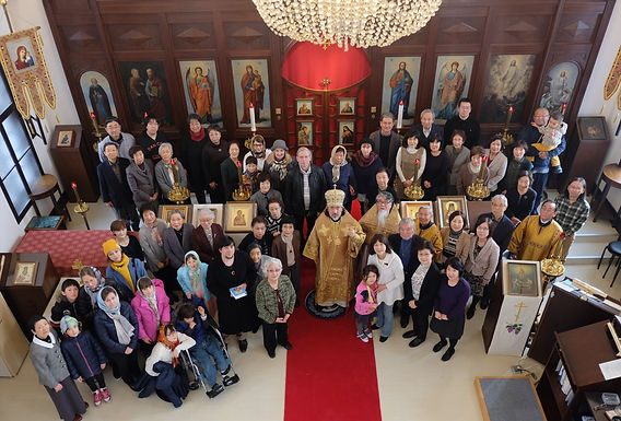 札幌正教会聖堂内部の改修終わる