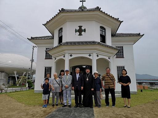 旧石巻正教会会堂の再建