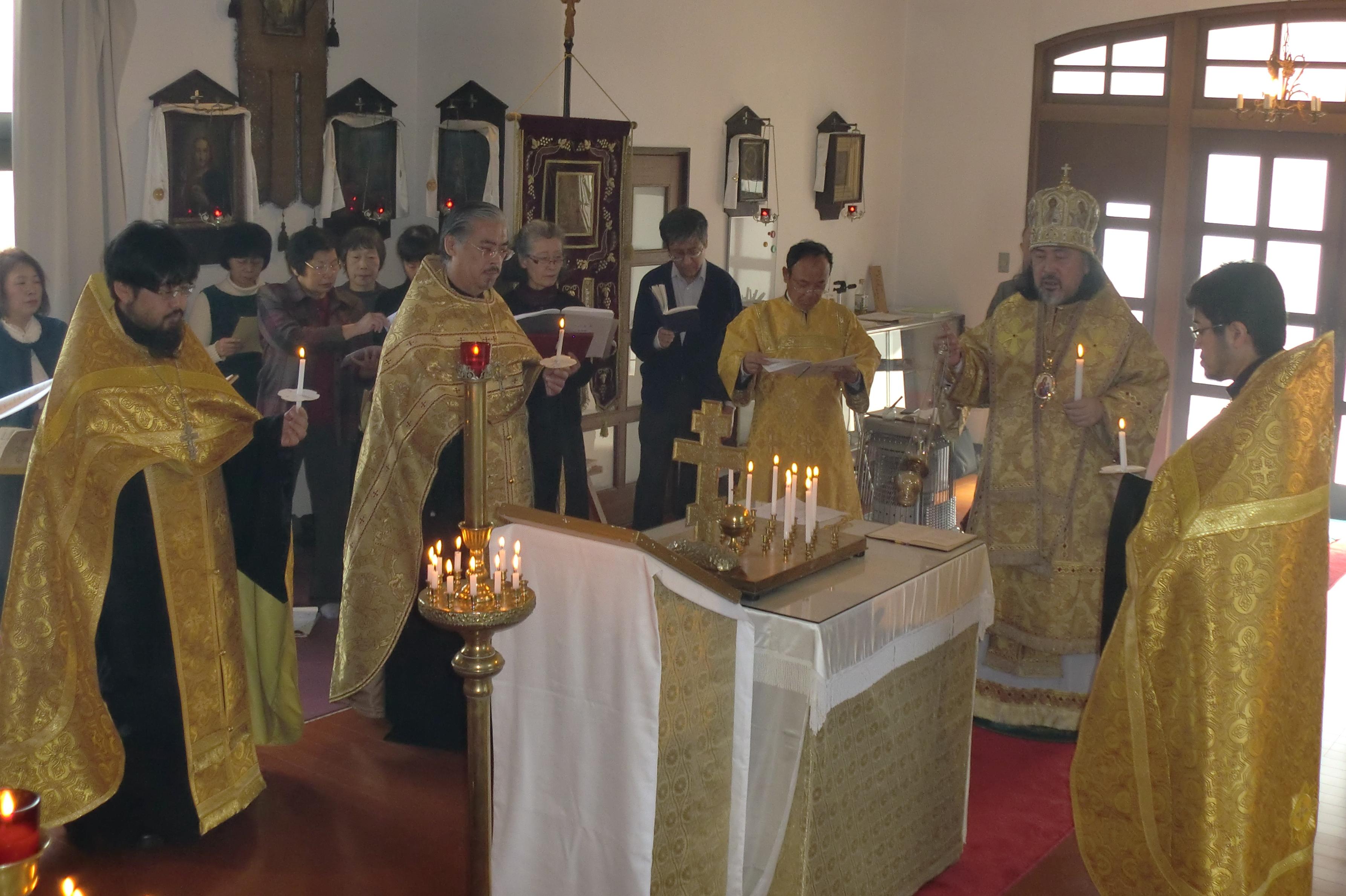 聖体礼儀とパニヒダ