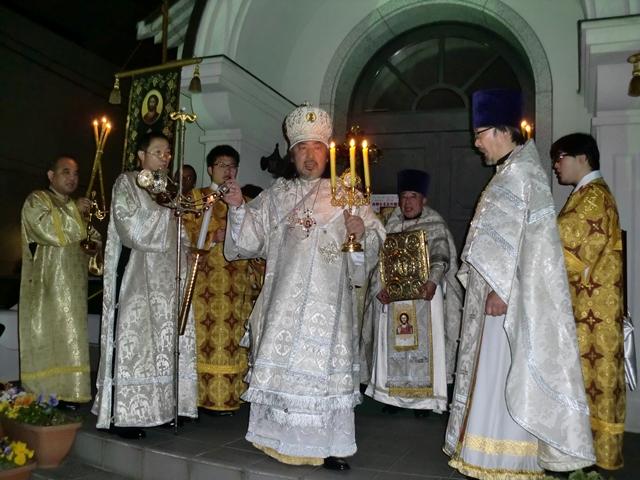 仙台正教会復活大祭の開始