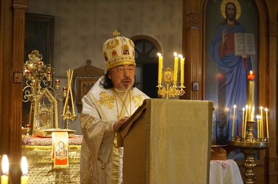 聖金口イオアン説教の朗読