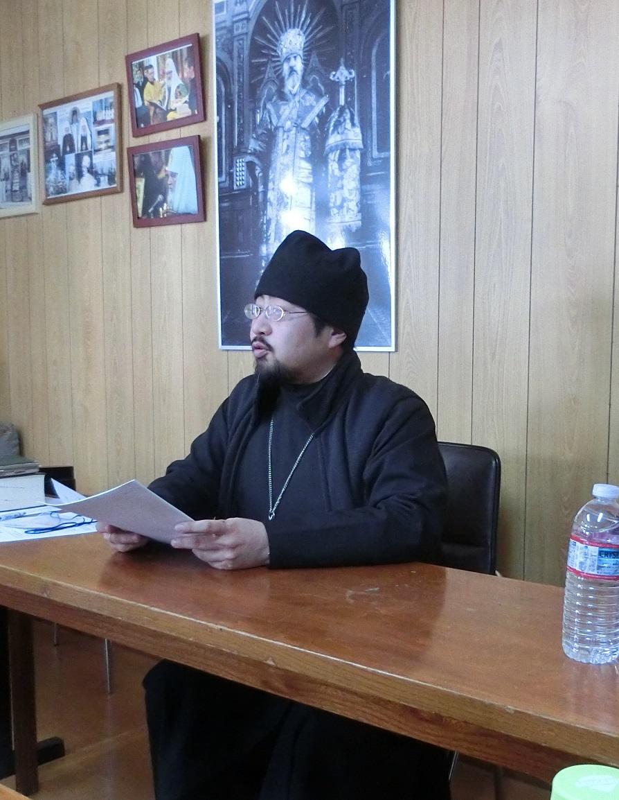 田畑神父の講義