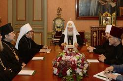 総主教レジデンスでの主教会議