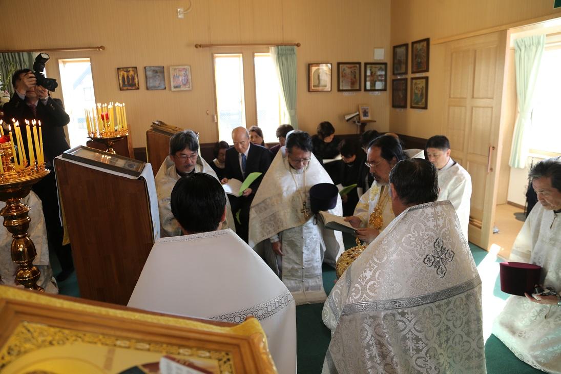会堂成聖の祈祷