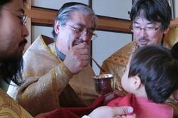 聖体礼儀での領聖