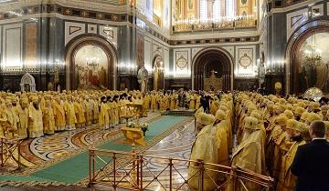 救世主大聖堂での記念聖体礼儀