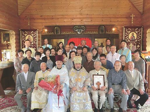 セラフィム大主教の一関巡回