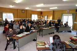 会館での信徒学びの会