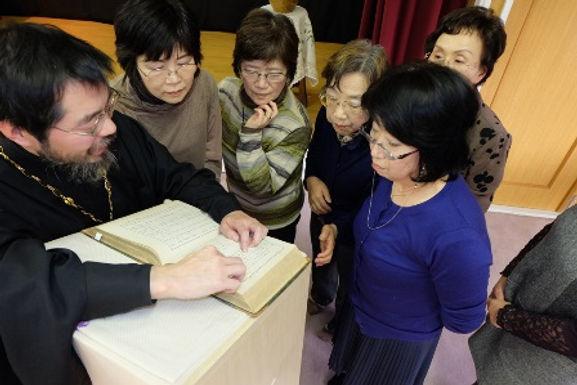 北海道ブロック誦経奉仕者研修会と信徒学びの会