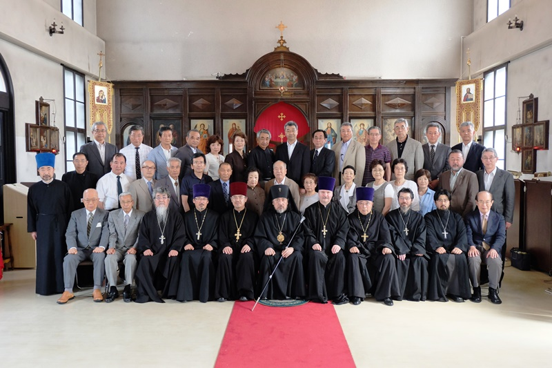 教区会議記念写真
