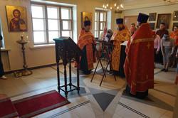カザン聖堂での聖ニコライのモレーベン