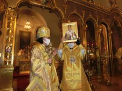 総主教聖下からの記念イコン