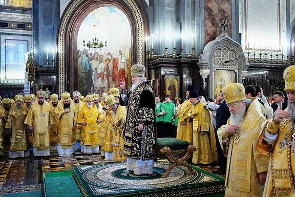 キリル聖下総主教着座11周年記念式典