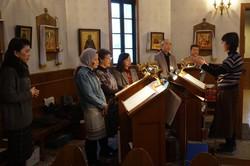 聖体礼儀聖歌の実践