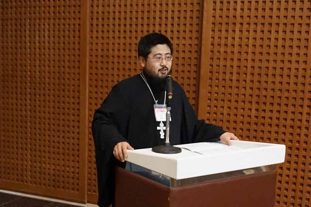 管轄司祭ルカ田畑神父の挨拶