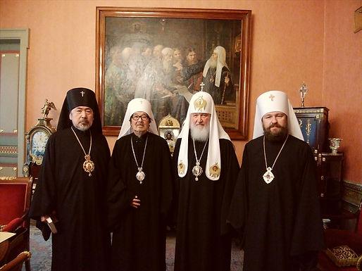 セラフィム大主教座下ロシア訪問